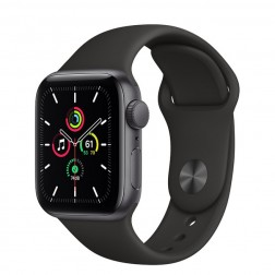 Apple Watch Se Gps 40mm Space Grey Correa Negra