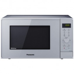 Microondas Grill 23l Panasonic Nn-Gd36hmsug Plata