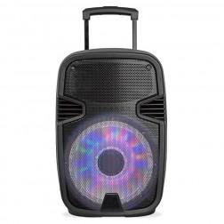 "Altavoz Portatil Sakkyo Npl2210dsp 8"" Bateria Recargable 45w Rms Bluetooth"