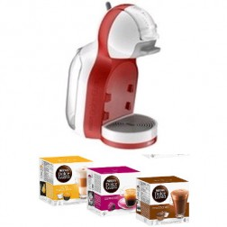 Cafetera+3 Paq Cafe Dolce Gusto Delonghi Mini Me R