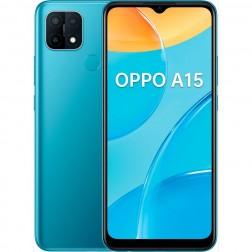 "Movil Oppo A15 6,52"" Hd+ 2gb+32gb Blue"