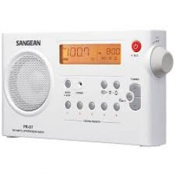 Radio Digital Sangean Fm-Am Pr-D7 Recargable
