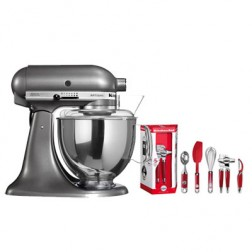 Robot Artisan Kitchenaid 5ksm150psems Plata