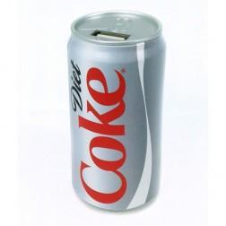 Bateria Externa Def 2200ma Lata Coca-Cola Light Pe