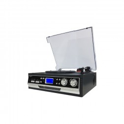 Giradiscos Sunstech Pxr22 Radio Funcion Encoding Negro