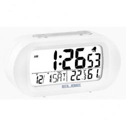 Reloj Despertador Elbe Rd009 Digital Blanco