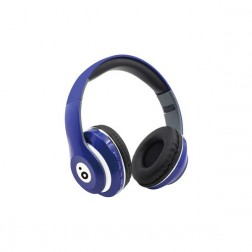 Auricular Diadema Sunstech Rebel Bluetooth Azul
