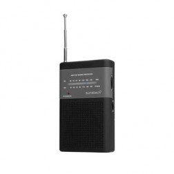 Radio Bolsillo Sunstech Rps42bk Negra