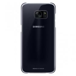 Carcasa Samsung Clear Cover Galaxy S7 Edge Negra