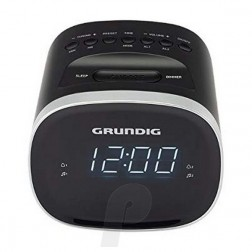 Radio Despertador Grundig Scc240 Digital Bluetooth Negra