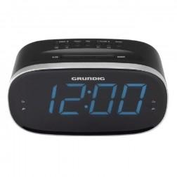 Radio Despertador Grundig Scn340 Digital Pantalla Led Grande Negra
