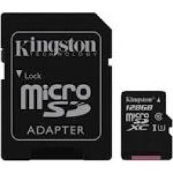 Tarjeta Micro Sd 128gb Kingston Sdc10g2128gb