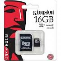 Tarjeta Micro Sd 16gb Kingston Sdc10g216gb