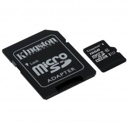 Targeta Micro Sd 16gb Kingston Sdcs16gb