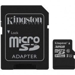 Tarjeta Micro Sdcs 32gb Kingston Sdcs32gb + Adaptador