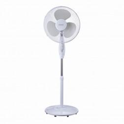 Ventilador Pie Haeger Sf16w006a Round Wind 40cm 45w Blanco