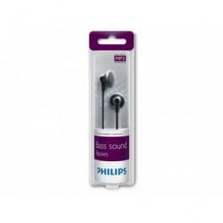Auricular Boton Philips She2000/10 Negro