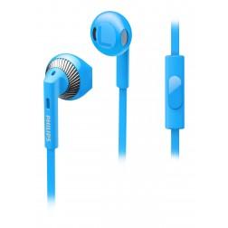 Auricular Boton Philips She3205bl/00 Azul C/Micro