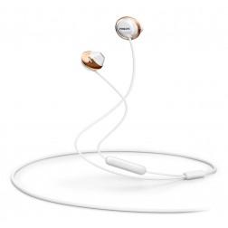 Auricular Boton Philips She4205wt/00 C/ Micro Blan