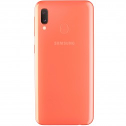"Movil Samsung Galaxy A20E 5.8"" 3gb Ram 32gb 13/5mp + 8mp Coral"