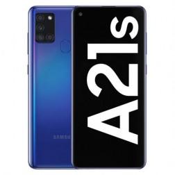 "Movil Samsung Galaxy A21s 6,5"" Octa Core 4+64gb 4 Cameras Azul"