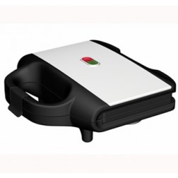 Sandwichera Tefal Sm155212 Ultracompact Negra Inox