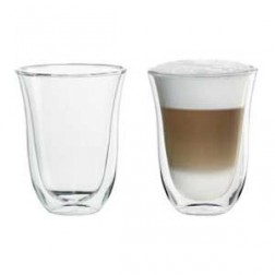 Set 2 Tazas Cafe Delonghi Latte Macchiato 220ml