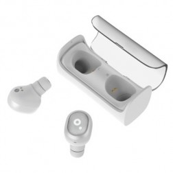 Auriculares Sunstech Wavepodswt Bluetooth Blancos