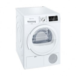 Secadora Cond Siemens Wt46g210ee 8kg Blanca B
