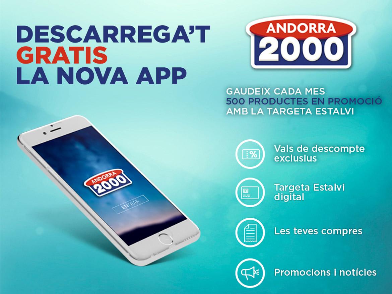 Decarrega't l'App d'Andorra 2000